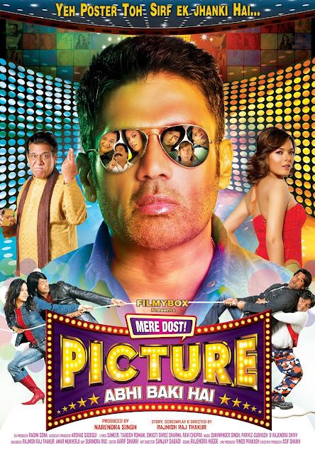 'Mere Dost Picture Abhi Baki Hai' Movie First look Wallpaper