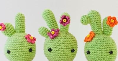 Patrones Amigurumi: Baby Cactus
