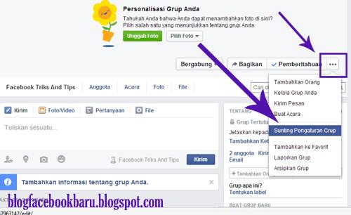 Cara Mengganti Nama Grup Di Facebook