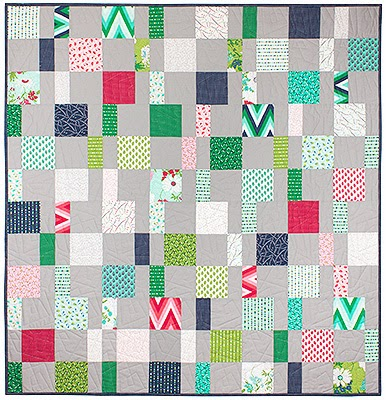 Charm Pack Cherry Quilt