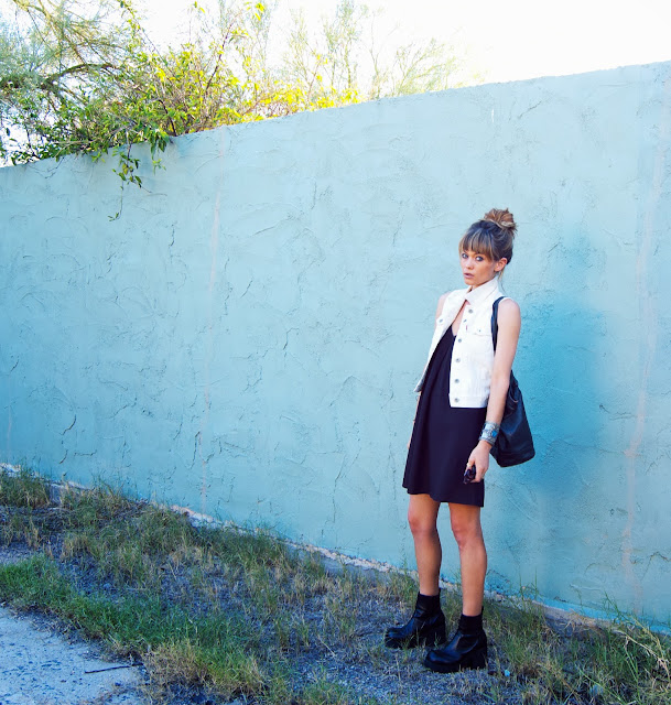 #mystyle #idlized #bigbag #black #dress #90s #grunge #classic #edgy #fashion