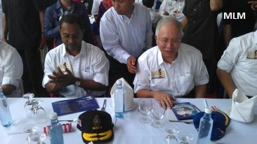 NAJ1B : Bersama PM (photo)