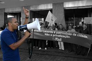 Ato contra a tentativa de privatização do Elevador Lacerda