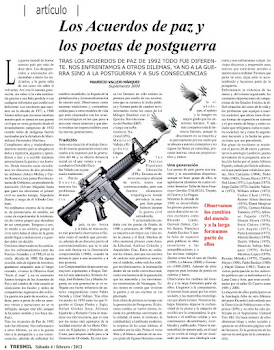Los Acuerdos de paz y los poetas de postguerra