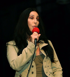 Cher made a suprise phone call to Chaz Bono on TV show 'Anderson'