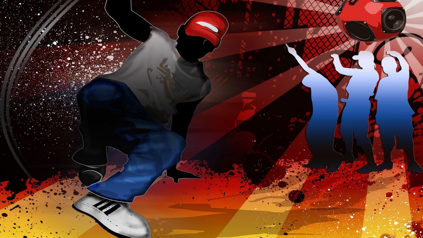 Hip Hop Break Dance Streetdance on Box Step Dance Steps