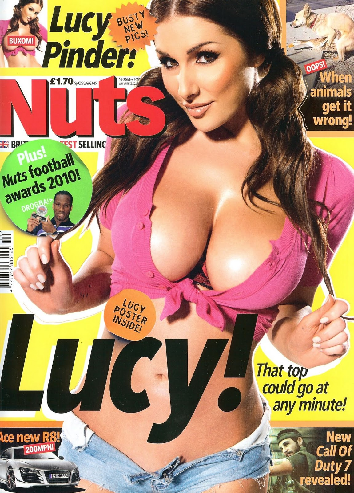 covers Nuts magazine