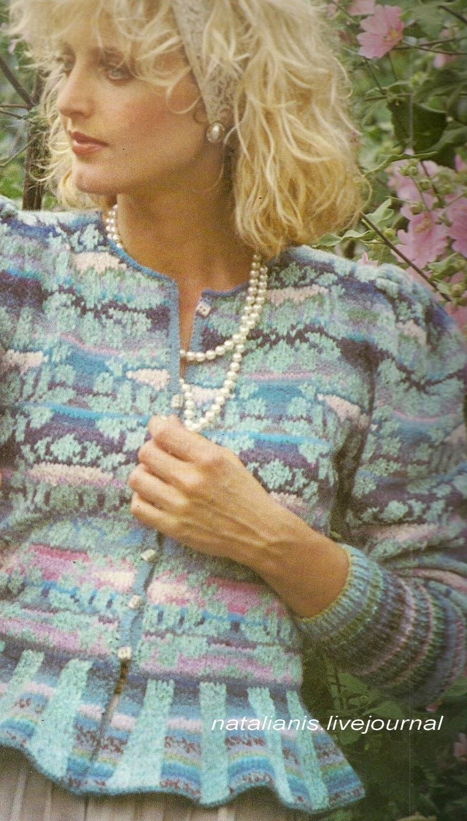 Осинка вязание спицы фото