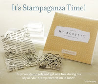 Stampganza!  Available 6/1-30/12