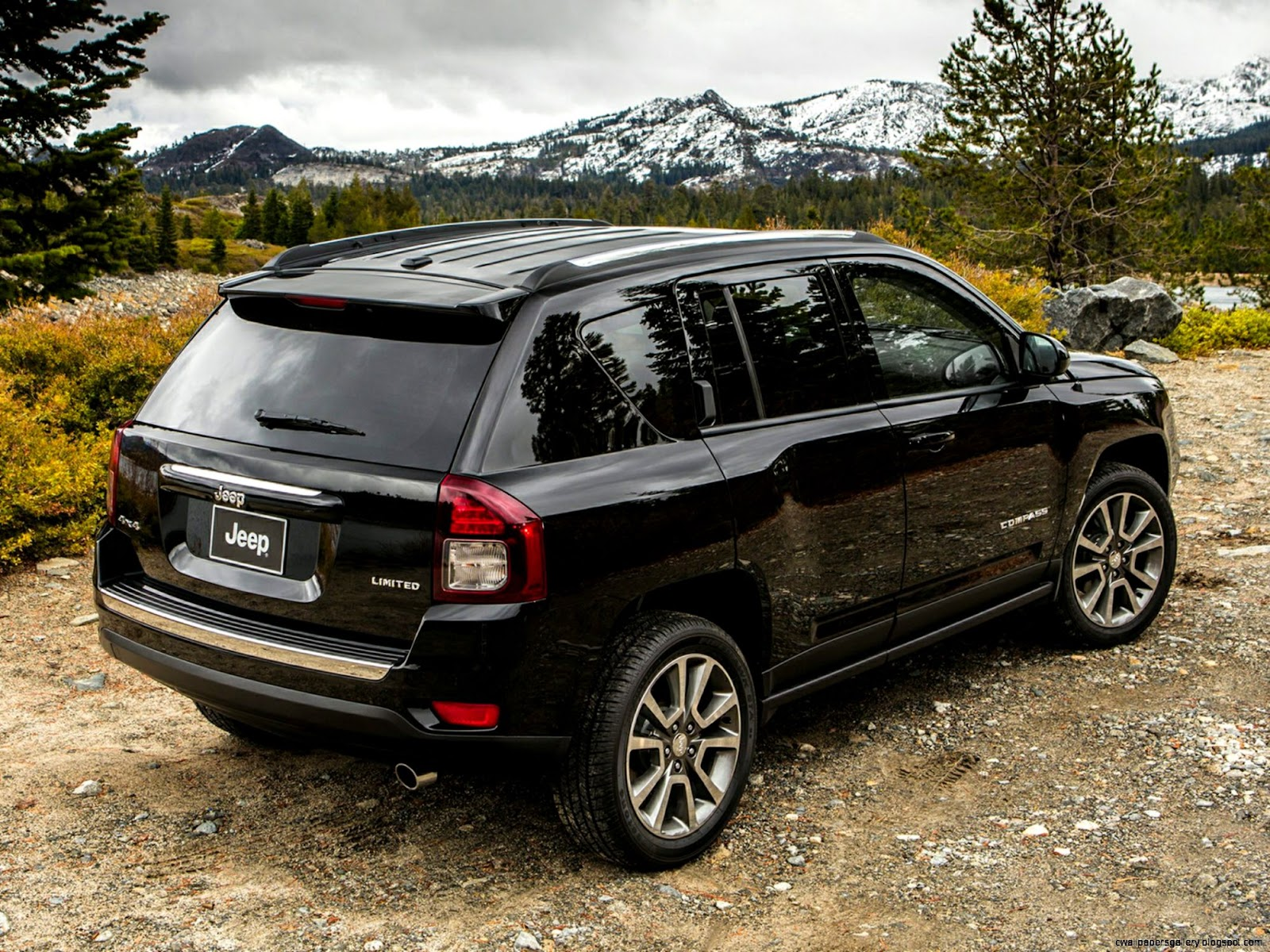 2015 Jeep Compass Wheels