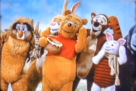Behind the scenes of kid shows winnie the pooh through for Classic house songs 2000
