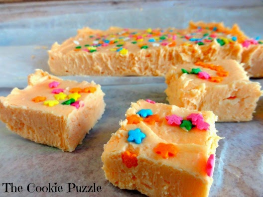 Easy Orange Fudge