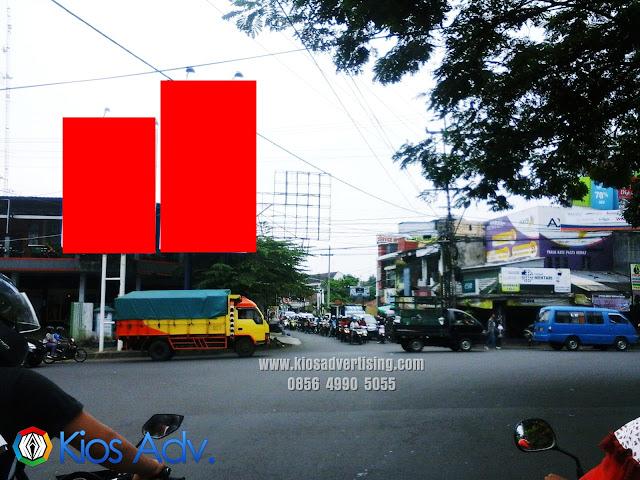 Sewa Titik Lokasi Baliho Permanent Ukuran 4x6m, 4x8m, 5x10m