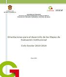 Orientaciones Proceso Evaluación Institucional