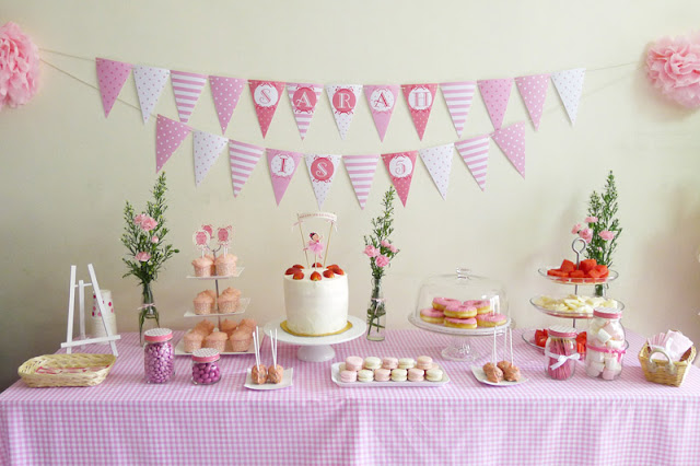 Ballerina birthday party ideas ballerina birthday party - Como decorar una fiesta infantil ...