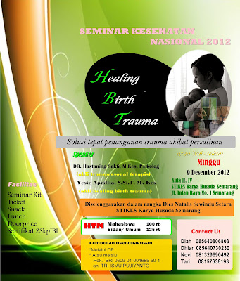 seminar healing birth trauma