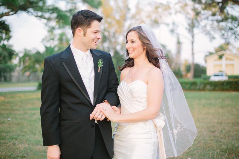 palm beach wedding photo