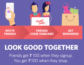 Myntra : Credit in your Account And Now Register and Get Rs.100 or Rs.200 free