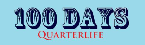 100 Days to quarterlife of travelandcount