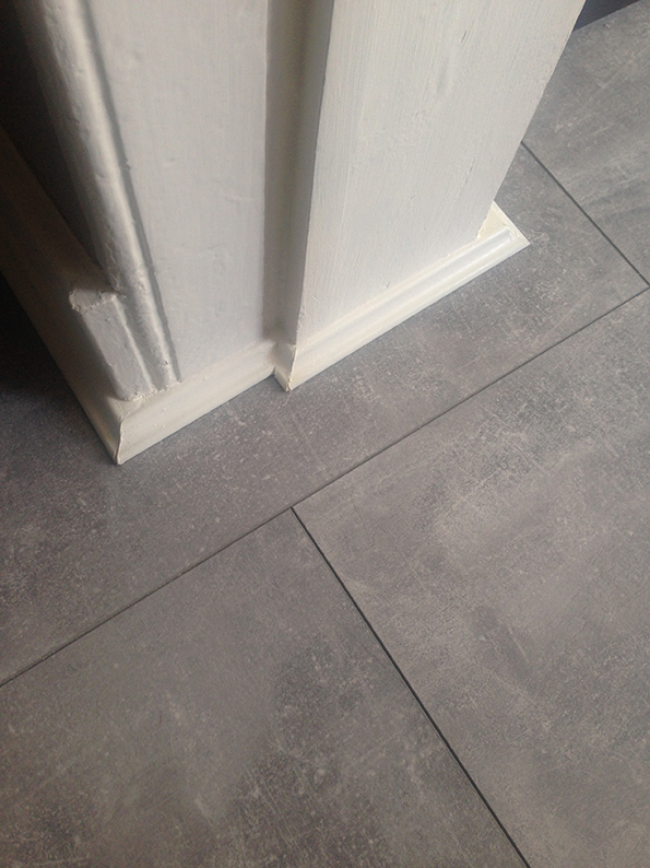 New Kitchen Floor Indus Concrete Laminate