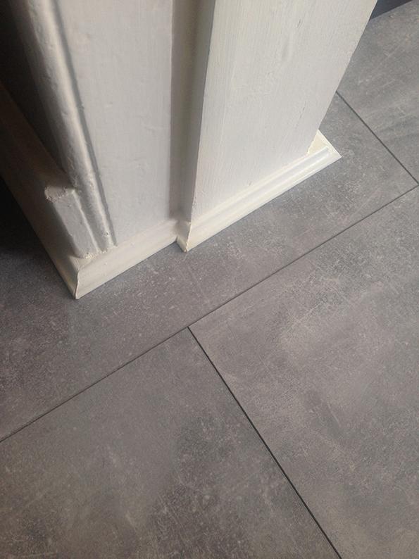 New Kitchen Floor Indus Concrete Laminate