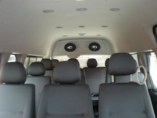 interior mobil pariwisata pekanbaru