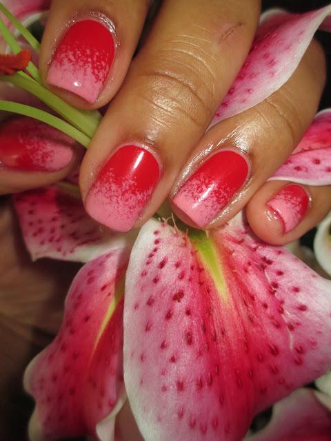 Valentine, inspired, rugged, ombre, Julep, January, nails, nail art, nail design, mani