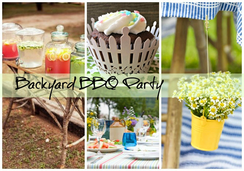 Backyard BBQ Party, Picket Fence Wrappers, Outside the Box Papers