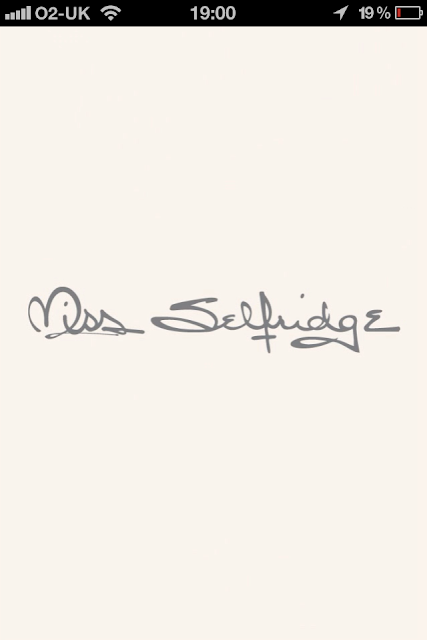 Miss Selfridge app