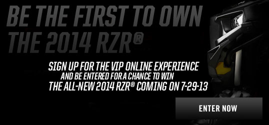 The Covers come off the new 2014 Polaris RZR on July 29, 2013 - UTV