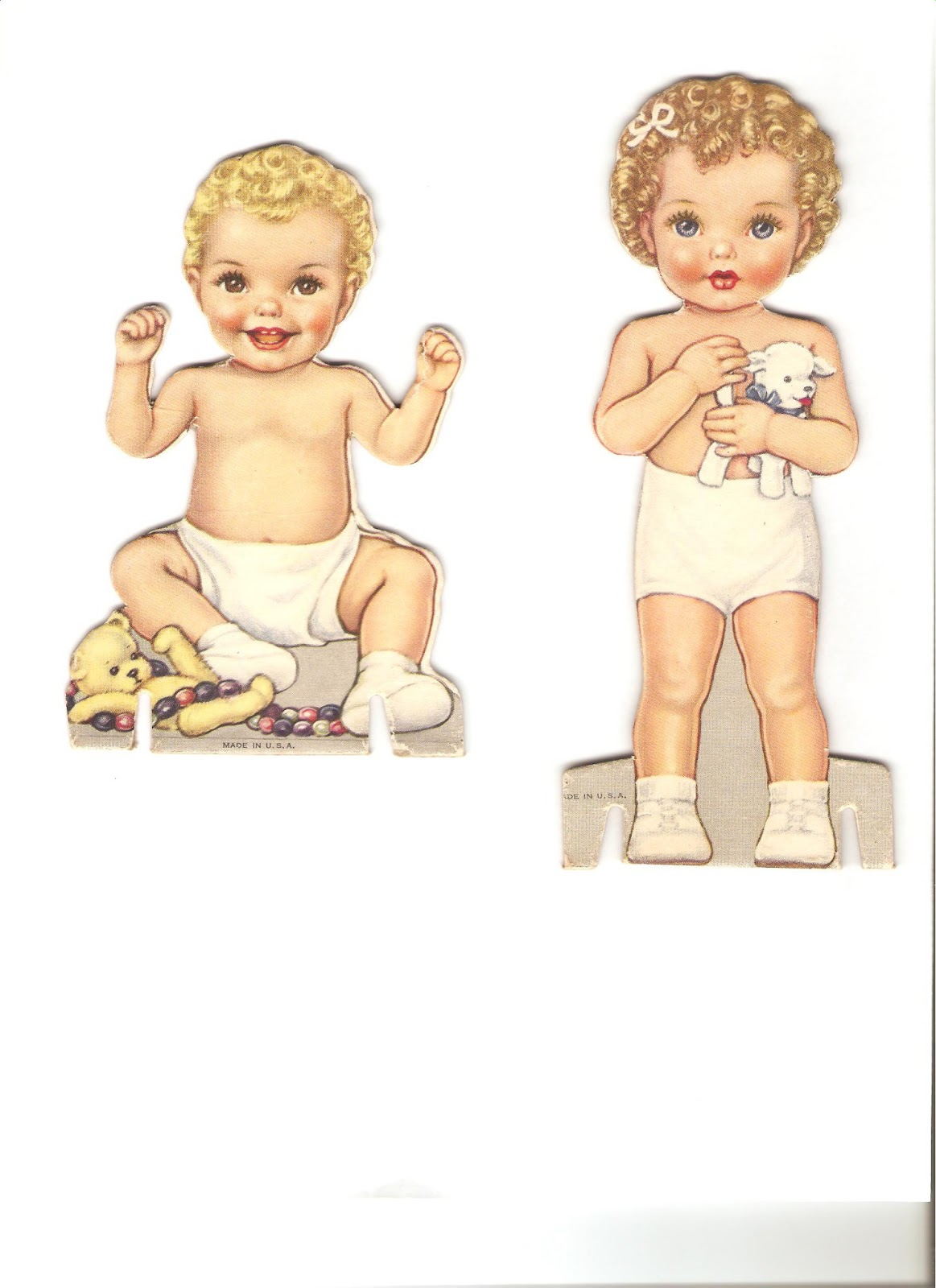 Miss Missy Paper Dolls: Baby Doll