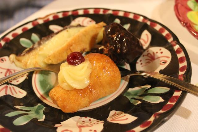 Desserts at La Tagliata, Positano, Italy