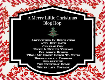A Merry little Christmas-Blog Hop- From My Front Porch To Yours