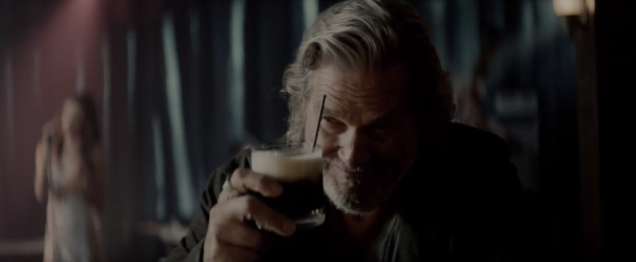 the dude white russian ad lebowski jeff bridges award