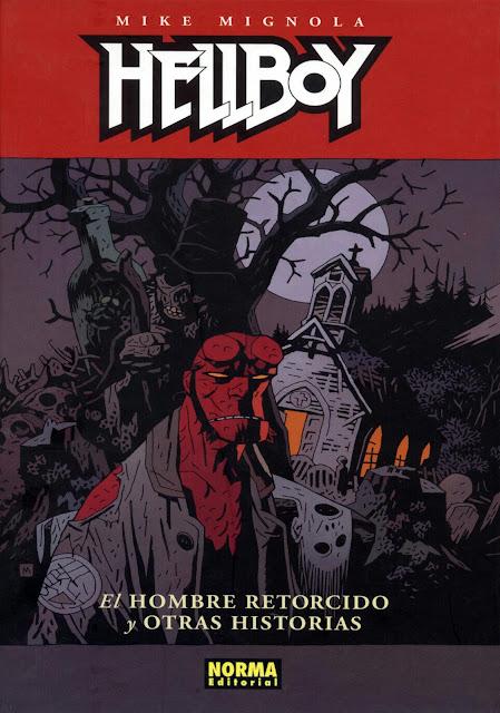 Portada del Tomo 13 Cartoné de Hellboy Editorial Norma