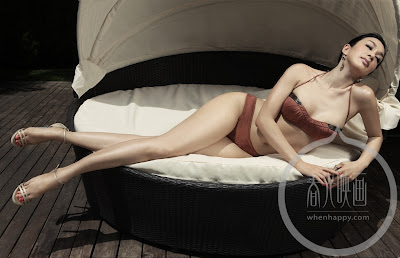 Foto Hot Model Sexy FHM China, Christy - Ada Yang Asik