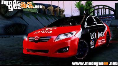 SA - Toyota Corolla 2012 LOJACK Racing