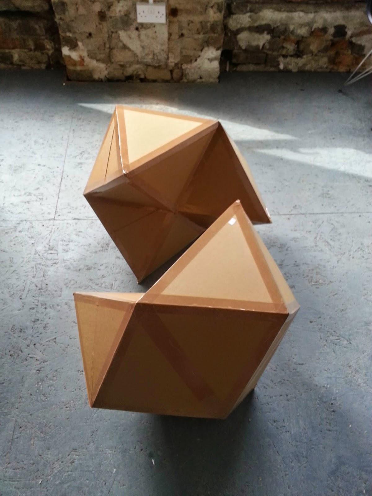 Kobayashi Maru, cardboard, 2013