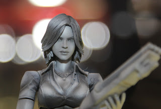 Square Enix Play Arts 2013 Toy Fair Display - Resident Evil 4 Helena figure