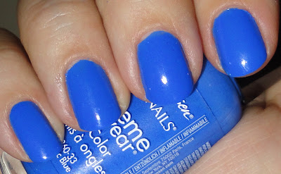 sally hansen pacific blue nail polish
