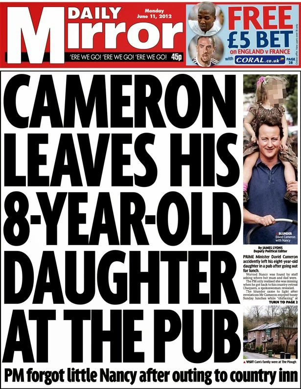 Although there are quite a few pictures of sam cameron and boris which