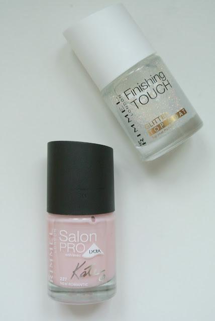 Rimmel London Kate Moss Nude Polish Glitter Top Coat