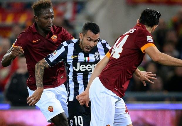 AS Roma Bermain Imbang Lawan Juventus