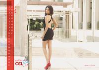 Shriya Saran in CCL 2012 Calendar
