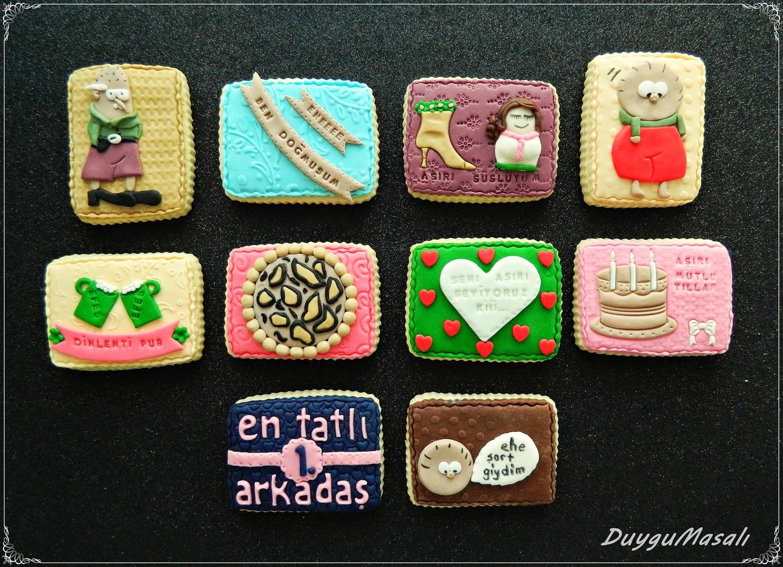 kişiye özel butik kurabiye