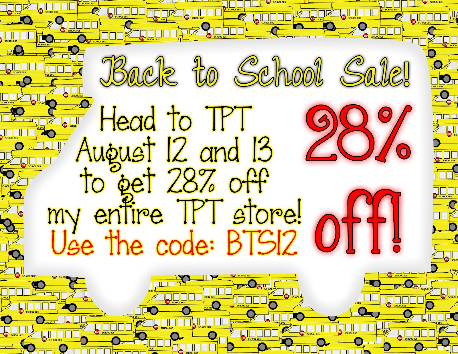 tpt back to school sale 2020