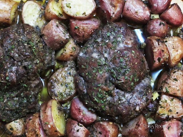Marinated Roast & Red Potatoes by Raia's Recipes
