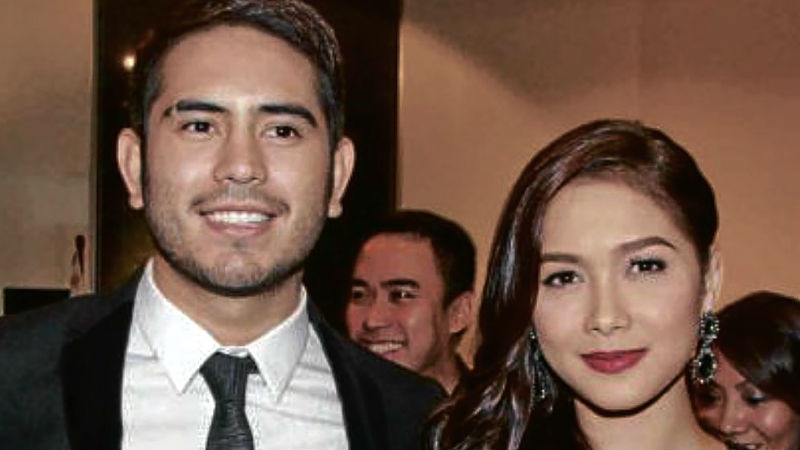 Maja Salvador and Gerald Anderson