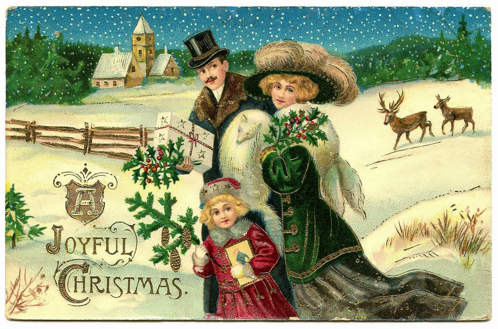 Victorian Christmas Pictures, Images & Photos   Photobucket