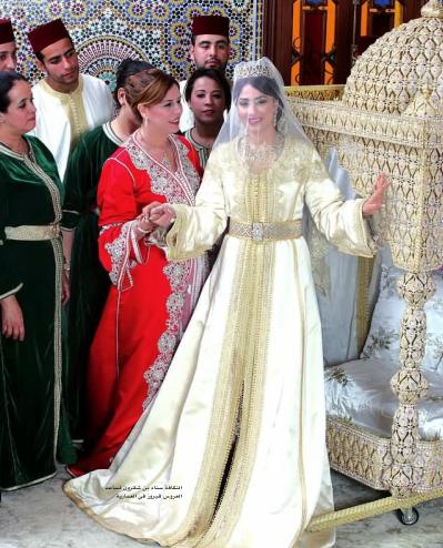caftan de mariage takchita marocaine pour la marie 2013 - Mariage Lalla Soukaina